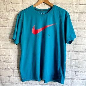 NIKE Fly Blue Tee T-Shirt